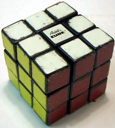 how to put rubix cube one side together